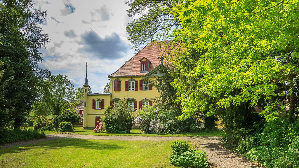 Hof Georgenau Hofgut Haus Nordseite