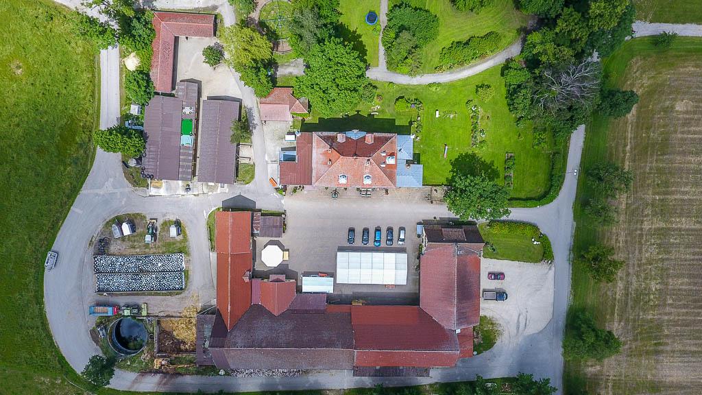 Hof Georgenau Hofgut Luft Anlage