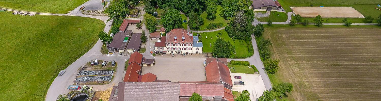 Hof Georgenau Hofgut Luftbild 2016
