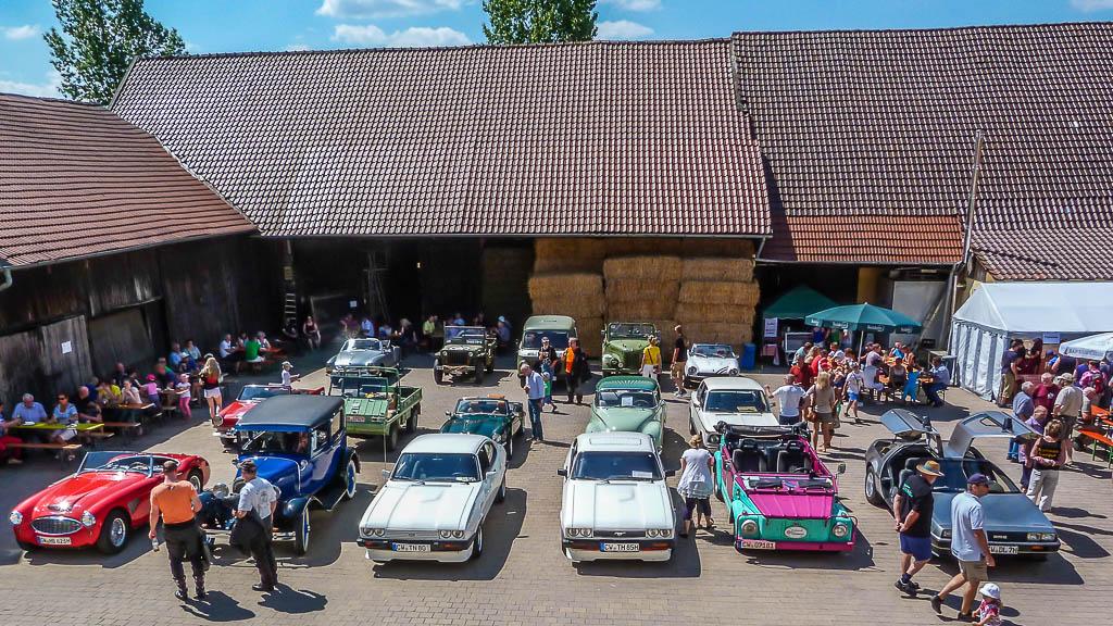 Hof Georgenau Hofgut Events Old- und Youngtimertreffen