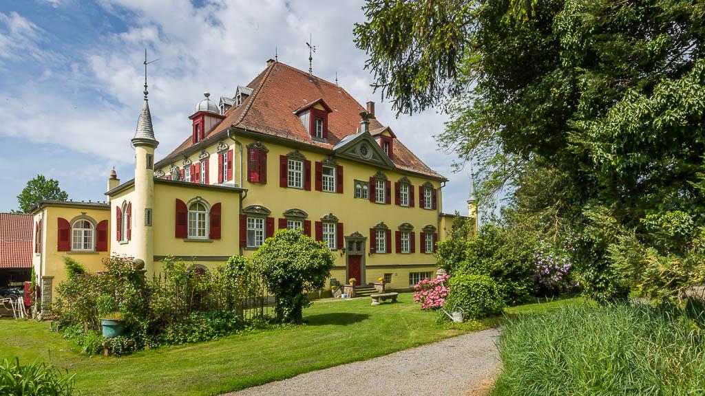 Hof Georgenau Hofgut Gebaeude Nordseite